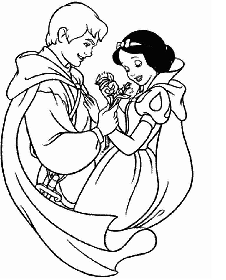 Novo Desenhos Para Colorir E Imprimir Da Branca De Neve Melhores